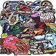 LIN LANG Dinosaur Stickers Jurassic World Park Decals, Laptop Water Bottle Skateboard Phone Motorcycle Bicycle Luggage Guitar