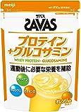 明治 ザバス プロテイン+グルコサミン オレンジ風味【15食分】210g