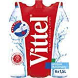 Vittel Natural Mineral Water (Pack of 6)