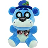 FNAF Plushies - Multiple Characters -(FrostBear) - 6 Inch - 5 Night Freddy's Plush: Golden Shadow Nightmare Phantom Frost Bea