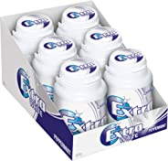 Extra White Peppermint Sugarfree Chewing Gum, 46 Piece Bottle (Pack of 6)