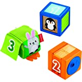 Fisher-Price GJW13 Stack & Discover Sensory Blocks Toy