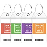 Carnival Luggage Tag Holders by Cruise On - Fits All Carnival Cruise Line Ships & Tags for Cruises in 2020 & 2021