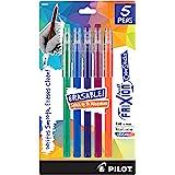 PILOT FriXion Color Sticks Erasable Gel Pens Assorted 5-pack (32443) Includes: Hunter Green, Blue, Purple, Magenta, Salmon Pi