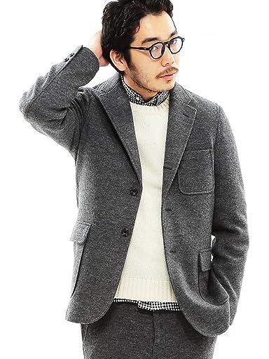 Beams Plus Wool Flannel Jersey 3-button Jacket 11-16-0309-803