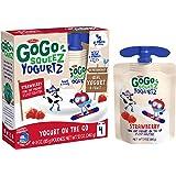 GoGo Squeez Yogurtz Strawberry, 3oz (Pack of 4)