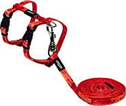 Rogz Kiddycat Harness & Lead Set Tango Fi 8mm