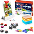 Osmo 901-00011 Genius Starter Kit for iPad- 5 Hands-On Learning Games- Ages 6-10- Math, Spelling, Problem Solving, Creativity