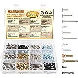 Zmbroll Self Drilling & Self Tapping Screws Assortment Kit Set for Drywall Screws, Sheet Metal and Wood Screws