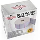 Marksman Precision GUN PATCH MEGA-ROLL | Strong 100% Double Brushed Cotton Cloth |10,000 Absorbent Patches | Cut To Size & Cl