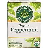 Traditional Medicinals Organic Peppermint, 24.09 g
