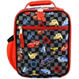 Disney Cars Lighting McQueen Boys Soft Insulated School Lunch Box One Size Black/Red