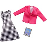 Barbie Clothes -- Career Outfit Doll, Business Executive with Tablet