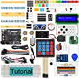 Freenove RFID Starter Kit V2.0 with Board V4 (Compatible with Arduino IDE) (Black Board), 266 Pages Detailed Tutorial, 198 It
