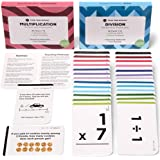 Think Tank Scholar Multiplication & Division Flash Cards   All Facts 1-12   Pocket-Size   Learn to Multiply & Divide