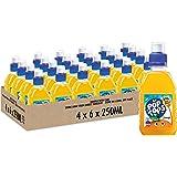 Pop Tops Orange Fruit Juice Drink, 4 x 6 x 250ml (24 Bottles Total)