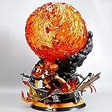 ONE PIECE エース大炎戒炎帝火球16色発光可能ABS&PCV制约560 mm塗装済みフィギュア