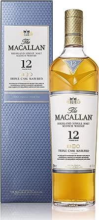 シングルモルトウイスキー ザ マッカラン トリプルカスク 12年 [ ウイスキー イギリス 700ml ] [ギフトBox入り]