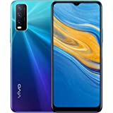 "vivo Y20s Dual Nano Sim 4G Smartphone, 128GB, 6.51"" Halo FullView Display (Nebula Blue)"