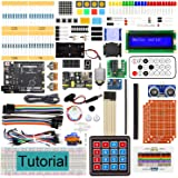 Freenove Ultimate Starter Kit with Board V4 (Compatible with Arduino IDE) (Black Board), 273 Pages Detailed Tutorial, 217 Ite