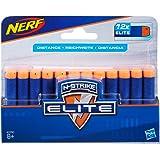 NERF Elite - 12 Pack official Darts - Compatible with Fortnite blasters - Scar AR-L, Supressed Pistol SP-L, Infinus & Hyperfi