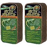 (2 Pack) Zoo Med Eco Earth Bricks