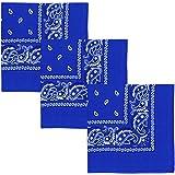 COOLOOバンダナ 三角巾 ターバン 大判 速乾 おしゃれ ペイズリー柄 男女兼用 和風