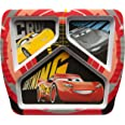 Zak Designs Cars 3 3 Section Plate, Divided