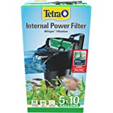 Tetra Whisper Internal Power Filter 5 To 10 Gallons, For aquariums, In-Tank Filtration With Air Pump
