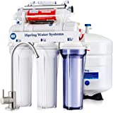 iSpring RCC7AK-UV 7-Stage Under-Sink Reverse Osmosis Drinking Water Filtration System with Alkaline Remineralization Filter a