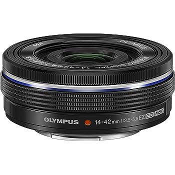 OLYMPUS 電動式パンケーキズームレンズ M.ZUIKO DIGITAL ED 14-42mm F3.5-5.6 EZ BLK