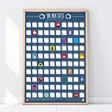100 Box Sets Bucket List Scratch Off Poster