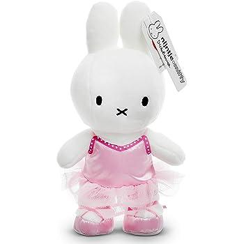 ミッフィーぬいぐるみ - 赤ちゃんから子供までギュッとしたくなる可愛いウサギのぬいぐるみ - 公式ディックブルーナ (ピンクバレリーナドレス, 24cm)