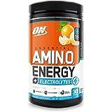 OPTIMUM NUTRITION ESSENTIAL AMINO ENERGY + Electrolytes, Tangerine Wave, Keto Friendly BCAAs, Preworkout and Essential Amino