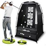 wosofe Golf Practice Driving Hitting Net Chipping Personal 2 Target Backyard inddor Home and Outdoor use 3.6ft x 6ft