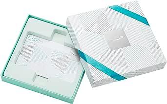 Amazonギフト券 ボックスタイプ -  5,000円(クールブルー)