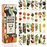 Shengo しおり ブックマークおしゃれ しおり ブックマーカー メッセージカード 可愛い 綺麗28枚セット (フルーツ)