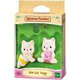 Sylvanian Families 5082 Silk Cat Twin Babies,Figure