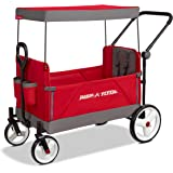 Radio Flyer 3970Z Convertible Stroller Wagon Red