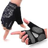 F-TUBAME® サイクリンググローブ 夏 3D 立体 サイクルグローブ 自転車 手袋 衝撃吸収 耐磨耗性 換気性 通…