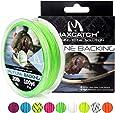 M MAXIMUMCATCH Maxcatchバッキングライン フライフィッシング用100yard(約90m) 20/30lb セット(ホワイト、イエロー、オレンジ、ブラック&ホワイト、ブラック&イエロー、ピーチ、ブルー、グリーン、バイオレット)