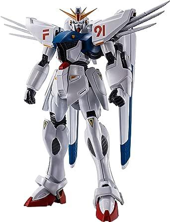ROBOT魂 機動戦士ガンダムF91 [SIDE MS] ガンダムF91 EVOLUTION-SPEC 約130mm ABS&PVC製 塗装済み可動フィギュア