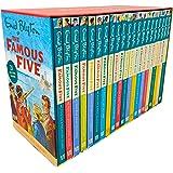 Famous Five Enid Blyton Complete Collection 22 Books Bundle (Five on a Treasure Island,Five Go Adventuring Again,Five Run Awa