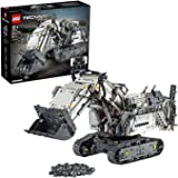 LEGO Technic 42100 Liebherr R 9800 Excavator Building Kit (4108 Pieces)