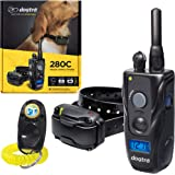 Dogtra 280C Remote Training Collar - 1/2 Mile Range, Waterproof, Rechargeable, Shock, Vibration - Includes PetsTEK Dog Traini