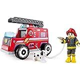 Hape E3024 Fire Rescue Team Truck Toy