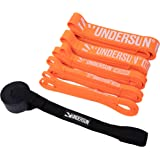Undersun Fitness Resistance Bands by James Grage Full Body Stretching Workout/Training Band, Perfect for Strength, Powerlifti