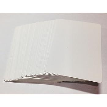 XTAROT 白紙カード(両面無地) 教材 トランプ・ブリッジサイズ 112枚組