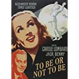 To Be Or Not to Be [DVD]