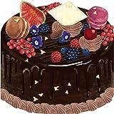 moovin 動画も贈れる 色紙 moovinミニボード CAFEFOOD チョコレートケーキ